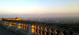 Vicenza, Blick von der Piazzale della Basilica di Monte Berico